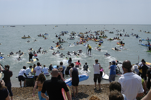 Paddle Round The Pier Beach Festival