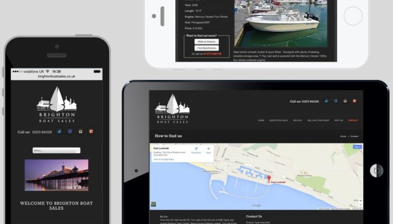 Access Brighton Boat Sales Anywhere
