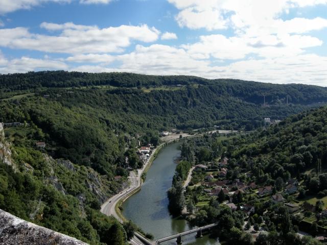 Baume Les Dames via the Rhone Au Rhine & to Auxonne via the Saone