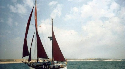Colin Archer Style Wooden Ketch