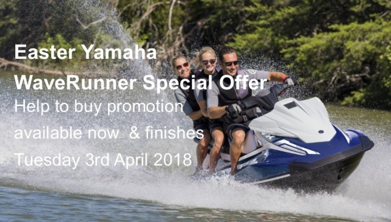 Easter Yamaha WaveRunner Special Offers