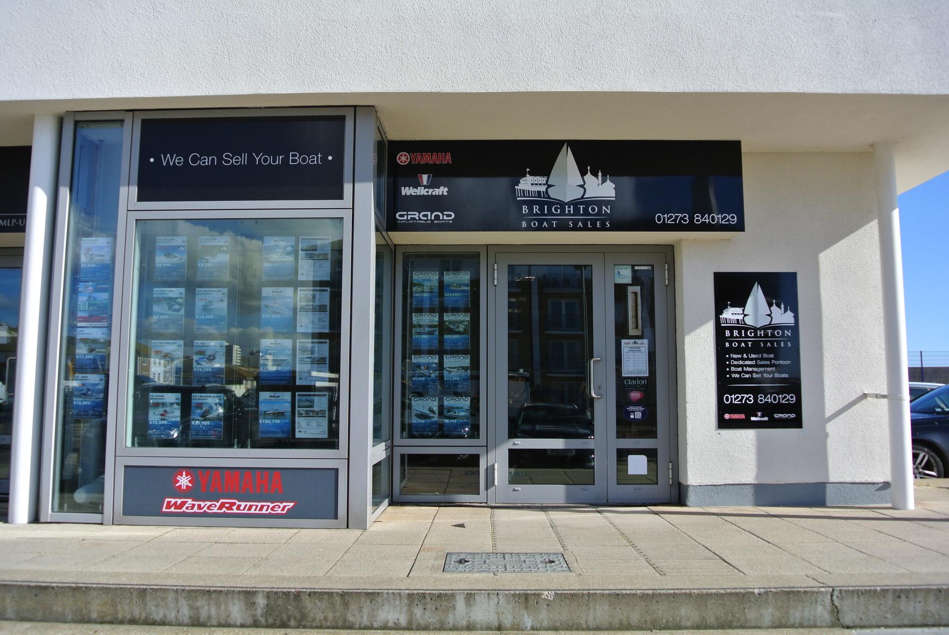Brighton Boat Sales shop front