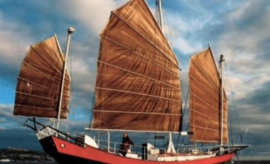 Chinese Junk Triple Masted Steel Hull 54