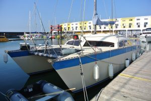Comanche 32 catamaran for sale