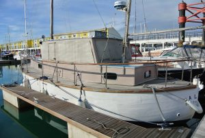 Miller Fifer 33 wooden motorsailer For sale