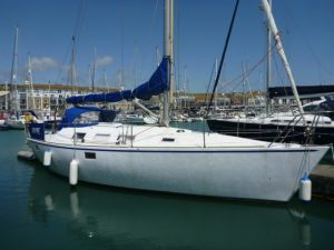 GRaham Roberts 34ft Yacht for sale